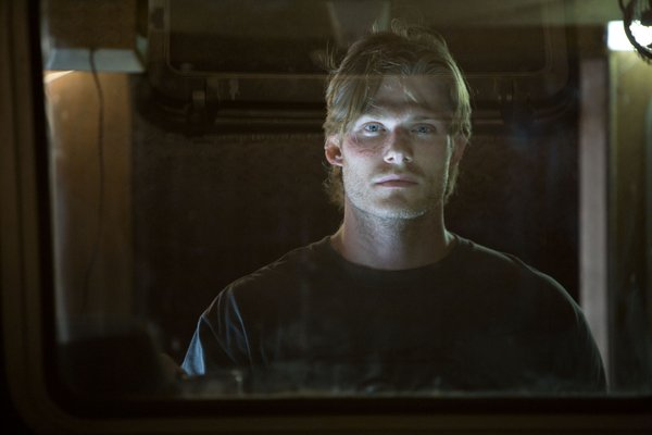"Chris Carmack is the one pretty boy among rednecks in ""Shark Night 3D."" He also looks like a young Viggo Mortensen. In fact there are also young looking versions of Reese Witherspoon, Tom Green, and Chris Evans in the cast."