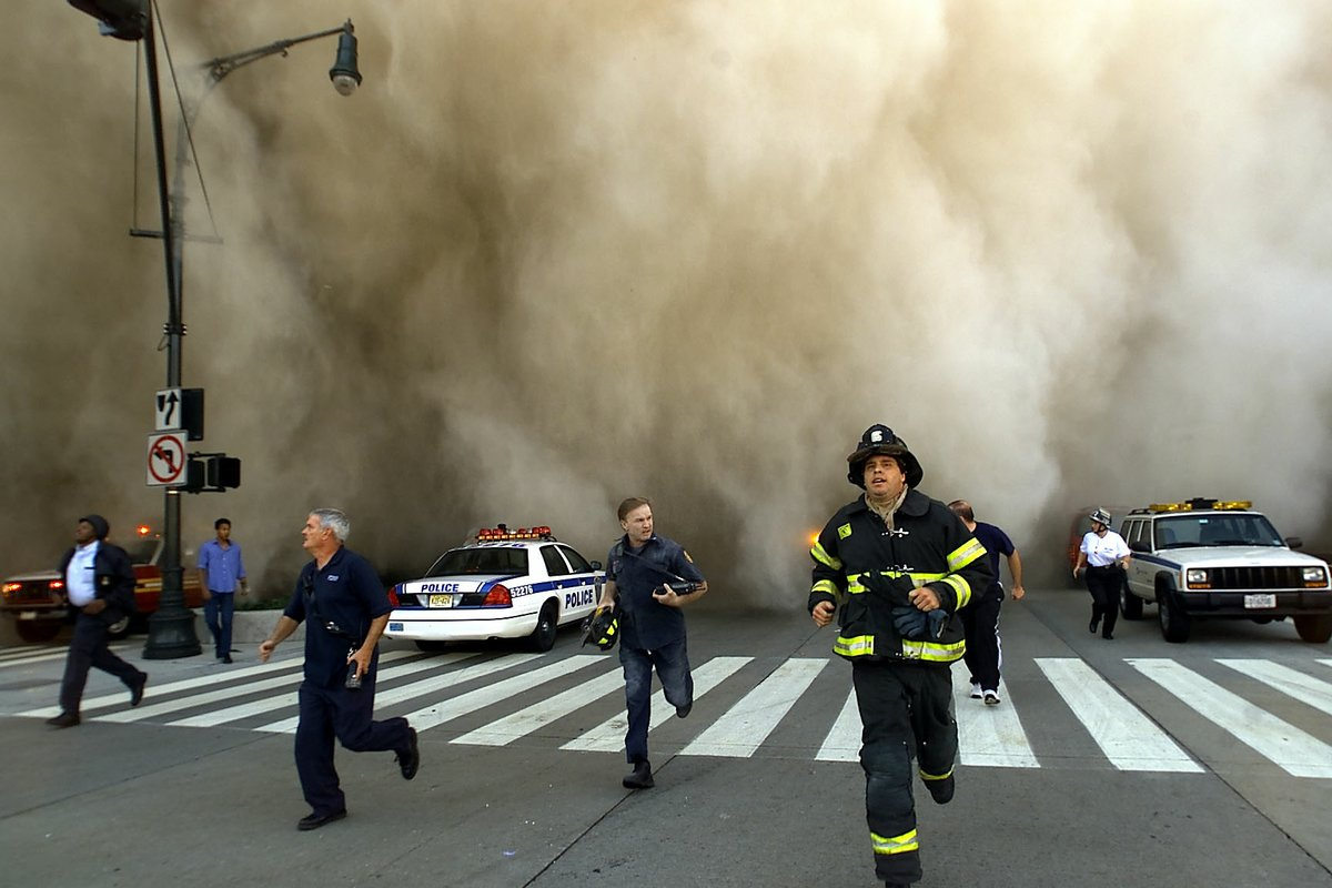 London firefighters in tears at truly horrible and