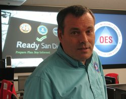 Ron Lane is the director of the San Diego County Emergency Operations Center.
