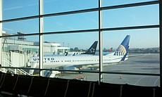 Flights were grounded at San Diego International Airport while some arriving flights were diverted to other airports during the blackout on Sept. 8, 2011.