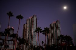 Downtown is dark after a massive blackout hit Southern California September 8...