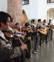 Mariachi Juvenil San Diego performing at the San Diego Museum of Man