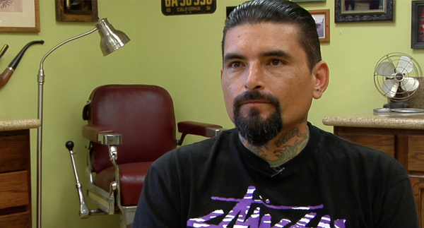 "Opie Gibran Ortiz is one of the tattoo artists showcased in ""Inspired by Art."""