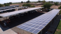 Solar panels will power the buildings of the Imperial Valley Office of Educat...