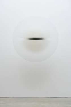 Robert Irwin , Untitled, 1969, acrylic lacquer on formed acrylic plastic, ove...
