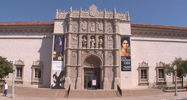 The San Diego Museum of Art is shown in this undated photo.