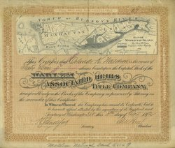 What secrets will this stock certificate reveal about the earliest settlement...