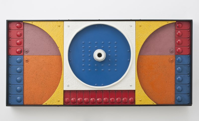 Jackson Woolley, Bonus, 1967, polyester resin and paint on wood, 19 ½ x 40 x ...