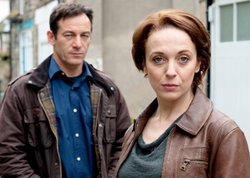 Jason Isaacs as Jackson Brodie and Amanda Abbington as DI Louise Munroe.