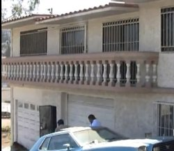 The home seized from drug dealers in Tijuana donated to the local Boys and Girls Club.