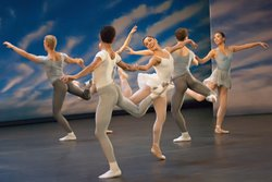 "The Miami City Ballet performs George Balanchine's ""Square Dance."""