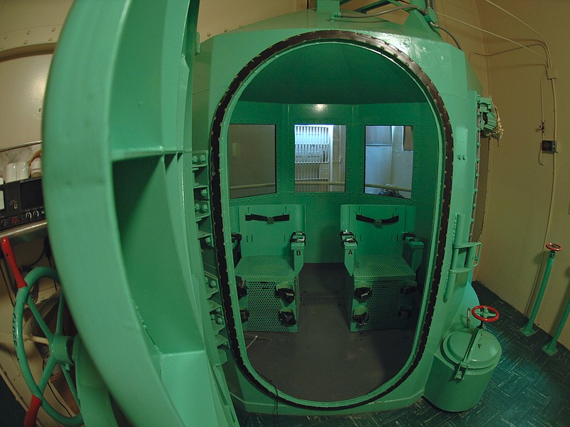 The gas chamber at San Quentin State Prison.