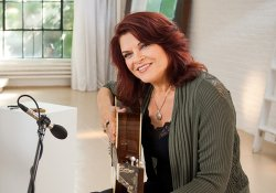 "Grammy Award-winner Rosanne Cash hosts ""Give Me The Banjo."""