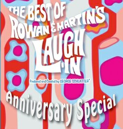"Join or renew at the $85 level and receive a ""The Best of Rowan & Martin's Laugh-In Anniversary Special"" DVD. This gift also includes enrollment in the myKPBS Savers Club which features a directory of best-in-class offers from Entertainment Publications and a KPBS License Plate Frame (if you're a new member)."