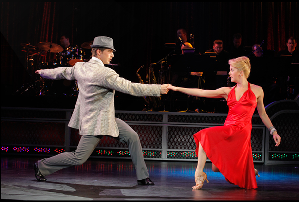 "A scene from ""Come Fly Away,"" a new musical featuring the music of Frank Sina..."
