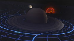 CGI of planets from