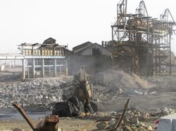 The former ASARCO site is being cleaned by Project Navigator, a California-ba...
