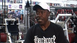 Bill Moore at Stern's Gym in North Park where he trains clients