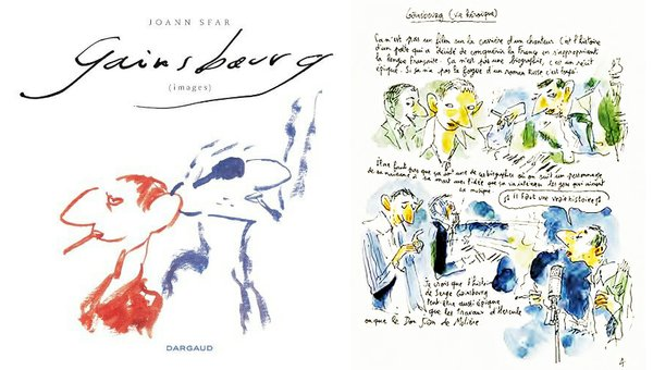 Joann Sfar's graphic novel about Gainsbourg that was the basis for the film.