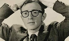 Woody Allen's first headshot.