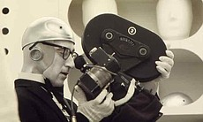 "Woody Allen directing ""Sleeper."""