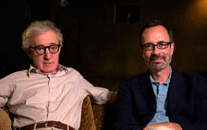 Woody Allen and Robert Weide.