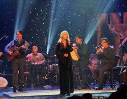 "Special guest Mairead Ni Mhaonaigh, from the world famous Donegal group Altan, appears in ""Christmas With The Celts."""