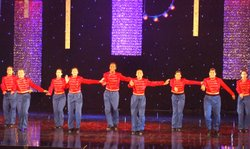 "The Gabriella Axelrad Education Foundation peforms ""Toy Soldiers."""