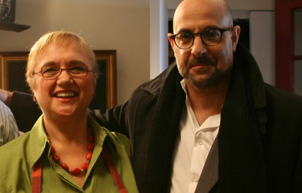 Celebrity chef, author and restaurateur Lidia Bastianich celebrates an Italian Christmas Eve Feast of the Seven Fishes with Stanley Tucci.