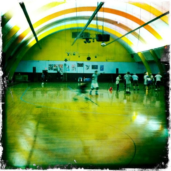 A recent San Diego AfterShocks practice as the team readies for their first home game on Saturday.