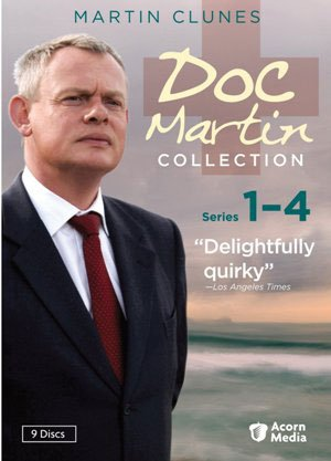 "Give at the $365 level during our membership campaign and receive a ""Doc Martin"" Collection: Series 1-4 (9-DVD set). This gift includes a KPBS License Plate Frame (if you're a new member)."