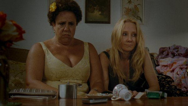 "Marcia DeBonis and Anne Heche star in Carrie Preston's ""That's What She Said,"" which just got accepted into the Sundance Next program."