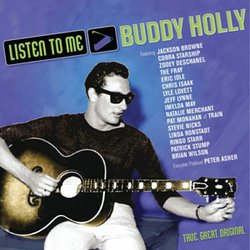 "Give at the $150 level during our membership campaign and receive the ""Listen to Me: Buddy Holly"" CD plus a DVD. This gift also includes enrollment in the myKPBS Savers Club plus additional online access to more than 130,000 merchant offers and printable coupons, as well as a KPBS License Plate Frame (if you're a new member)."