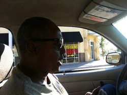 Abdirashid Ali has been driving a cab in San Diego for six years.