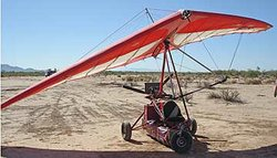 An ultralight aircraft apprehended by U.S. Customs and Border Protection in S...