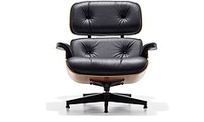 Eames Lounge (full front, without ottoman).