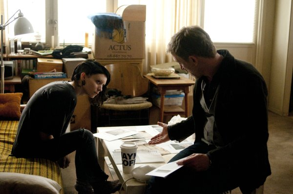 "Rooney Mara and Daniel Craig star in the remake of ""The Girl With the Dragon Tattoo."""