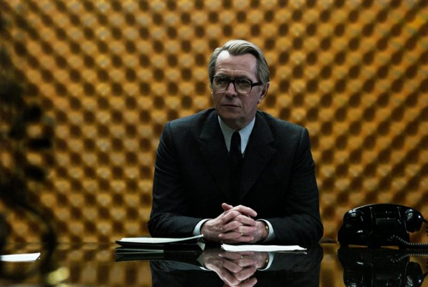 "Gary Oldman stars in the film adaptation of John LeCarre's ""Tinker, Tailer, Soldier, Spy."""