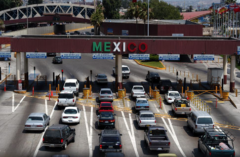 U.S. Border Crossing at Tijuana