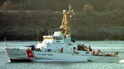 The US Coast Guard cutter Monomoy was involved in Tuesday's rescue.