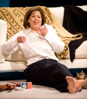 """Let Me Down Easy"" star Anna Deavere Smith as Lauren Hutton, the Arena Stage, Washington, D.C."