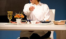 """Let Me Down Easy"" star Anna Deavere Smith as Ann Richards, the Arena Stage, Washington, D.C."