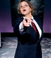 """Let Me Down Easy"" star Anna Deavere Smith as Peter Gomes, the Arena Stage, Washington, D.C."