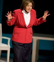 """Let Me Down Easy"" star Anna Deavere Smith as Ruth Katz, the Arena Stage, Washington, D.C."