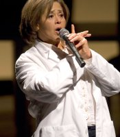 """Let Me Down Easy"" star Anna Deavere Smith as Dr. Phillip A. Pizzo, the Arena Stage, Washington, D.C."