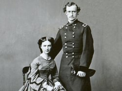 General George A. Custer with his wife, Libbie.