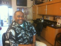 Mario D. Lewis is president of the group called 100 Strong and he's owner of the Imperial Barber Shop on Imperial Avenue in San Diego.