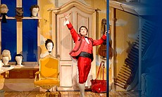 "Figaro in ""The Barber Of Seville."" He's Seville's ""King of Lather a... (13981)"