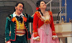 "Performance photo from ""The Barber Of Seville."""