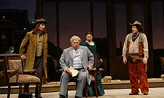 "Performance photo of the cast from ""Don Pasquale."" (13970)"